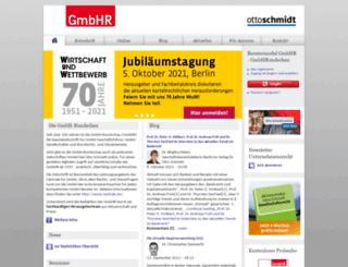gmbhr.de screenshot