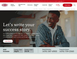 gmc.edu screenshot