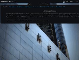 gmcontactpreferences.com screenshot
