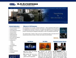 gmeindia.com screenshot