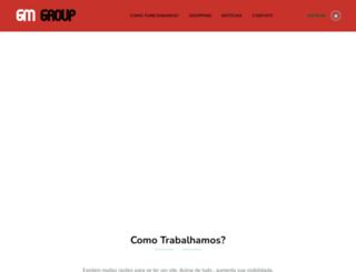gmgroup.com.br screenshot