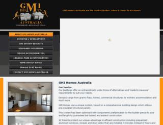gmihomesaustralia.com.au screenshot