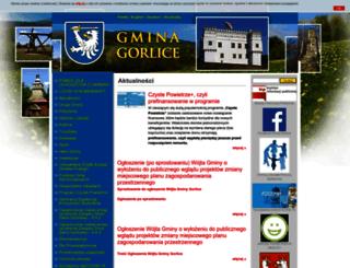 gmina.gorlice.pl screenshot