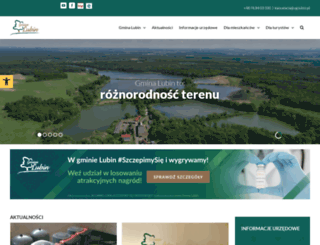 gmina.lubin.pl screenshot