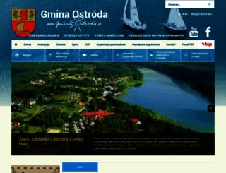 gminaostroda.pl screenshot