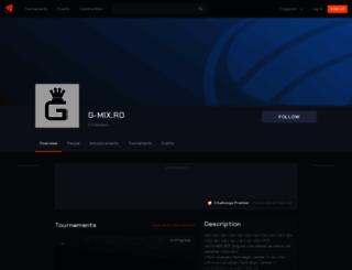 gmixro.challonge.com screenshot