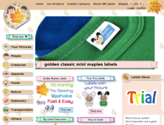 gmlabels.com screenshot