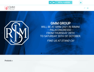 gmmspa.com screenshot