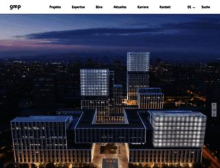 gmp-architekten.com screenshot