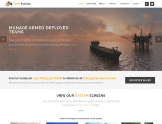 gmp-marine.com screenshot
