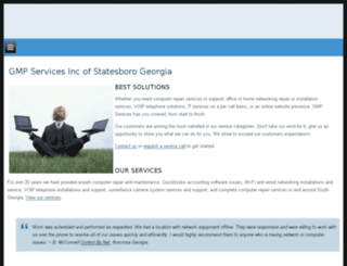 gmpservices.com screenshot