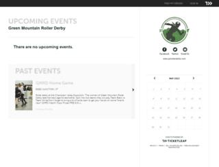 gmrollderby.ticketleap.com screenshot