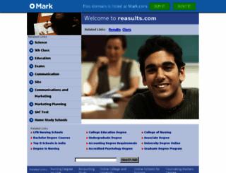 gms.myclassboard.reasults.com screenshot