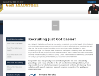 gmsleadstore.com screenshot