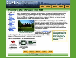 gmsmortgages.com screenshot