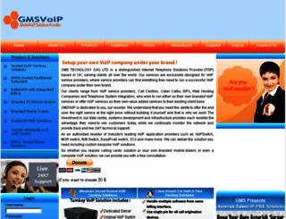 gmsvoip.com screenshot