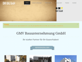 gmv-bau.at screenshot