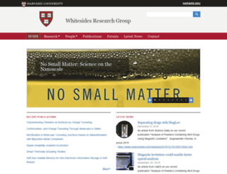 gmwgroup.harvard.edu screenshot