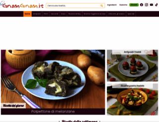 gnamgnam.it screenshot