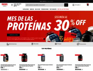 gnc.com.mx screenshot