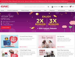 gnc.com.sg screenshot