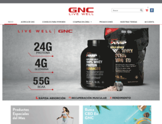 gnc.cr screenshot