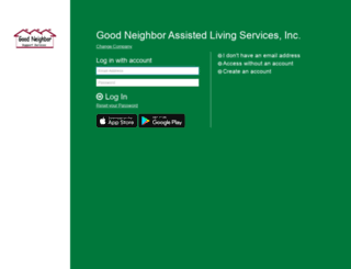 gncares.greenemployee.com screenshot