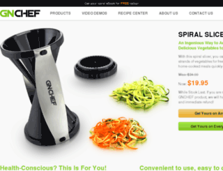 gnchef.com screenshot