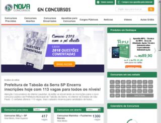 gnconcursos.com.br screenshot
