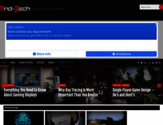 gnd-tech.com screenshot
