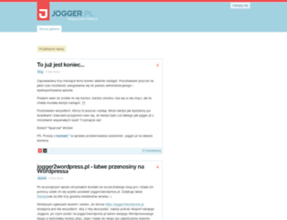 gnd.jogger.pl screenshot