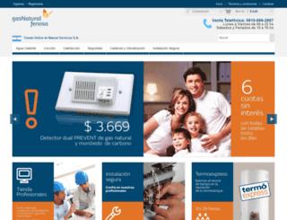 gnfshop.com.ar screenshot