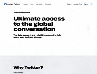 gnip.com screenshot