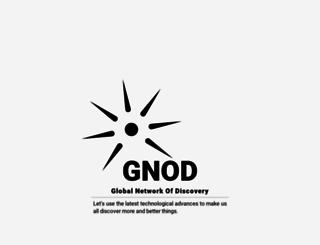 gnod.net screenshot
