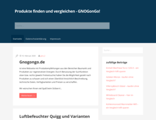 gnogongo.de screenshot