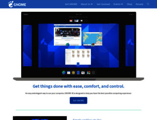 gnome.org screenshot
