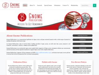 gnomepublications.org screenshot