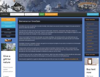 gnoodiplo.net screenshot