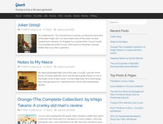 gnorb.net screenshot