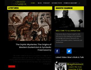 gnosticwarrior.com screenshot