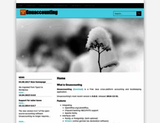 gnuaccounting.org screenshot