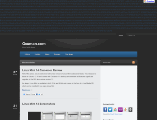 gnuman.com screenshot