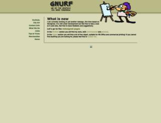 gnurf.net screenshot