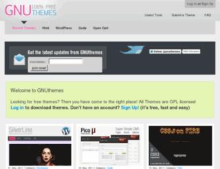 gnuthemes.org screenshot
