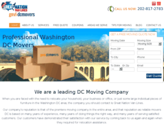 gnvl-dcmovers.com screenshot