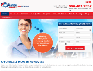gnvl-mdmovers.com screenshot
