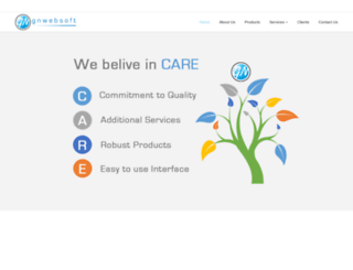 gnwebsoft.com screenshot