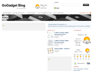 go-gadget-blog.com screenshot