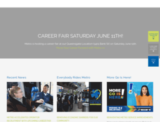 go-metro.com screenshot