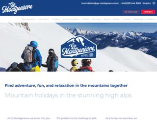 go-montgenevre.com screenshot